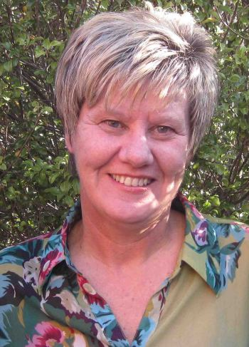 Jacqui Anderson, midwife